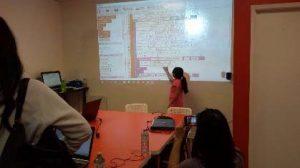 exceed-robotics-student-presenting